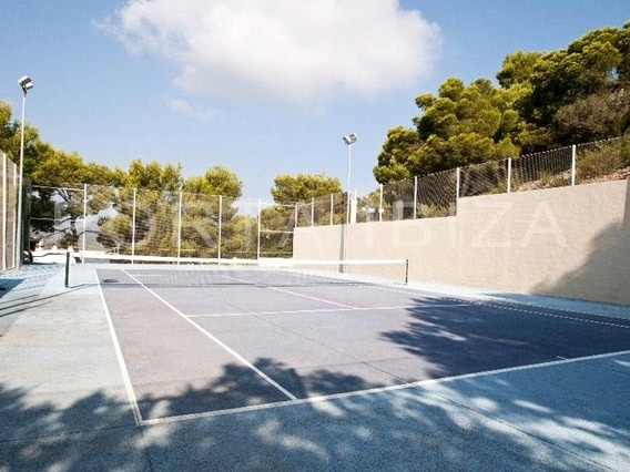 tennis court-marvelous villa-ibiza-unique seaview