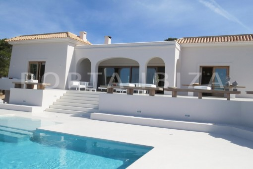 marvelous property-fantastic sea views-sunset views-cala tarida