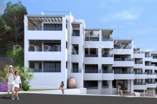 Apartamentos de nueva construcción en la...