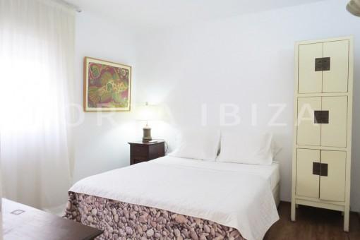bedroom1-wonderful apartment- Botafoch-Ibiza