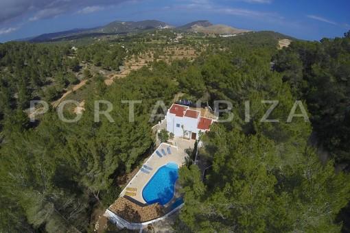 Casa para fiestas y relajarse cerca de Ibiza.