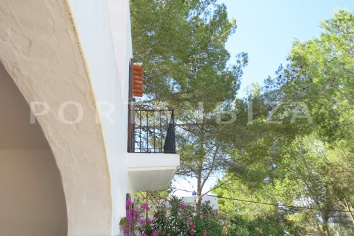 balcony-wonderful house at Can Germa-great sea view