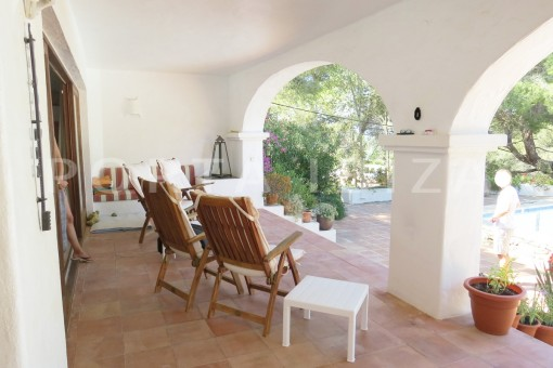 chill-wonderful house at Can Germa-great sea view