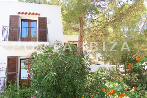 garden-wonderful house at Can Germa-great sea view