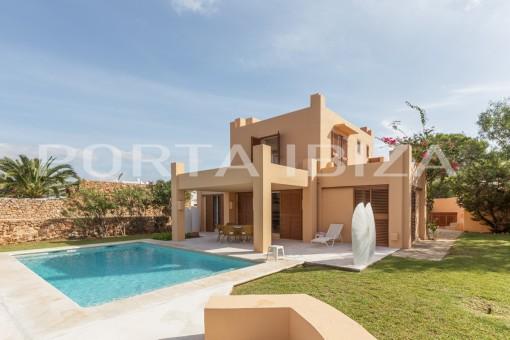 Villa en Caló d'en Real