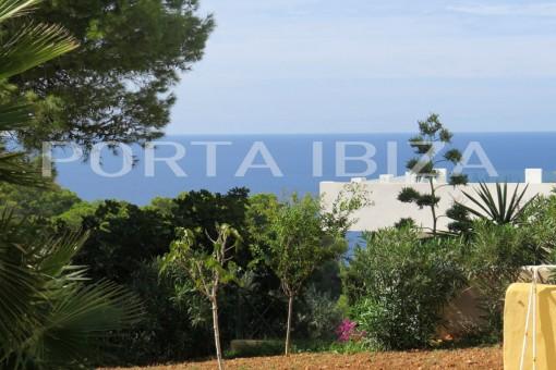 Villa aislada con vistas al mar en Cala Vadella