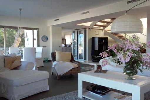 Bonita casa adosada cerca del campo de golf en 'Roca Llisa', Ibiza