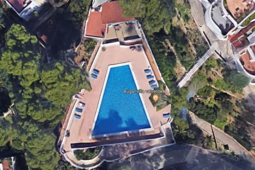 La piscina comunitaria