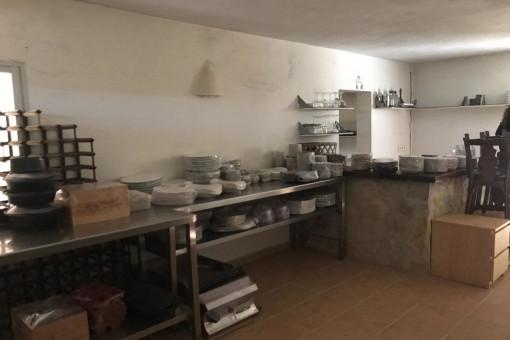 Vista alternativa a la cocina