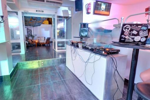 Zona del DJ