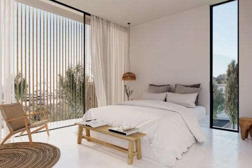 Dormitorio principal acogedor