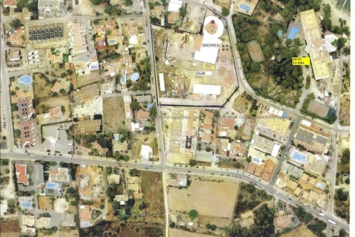 Terreno comercial para un club en Ibiza